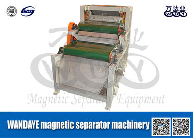 China Double Layer Conveyor Belt Magnetic Separator , Magnetic Roll Separator supplier