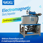 Automatic Electro - Magnetic Separator Machine Field Strength 3T High Speed Kaolin Ceramic Slurry